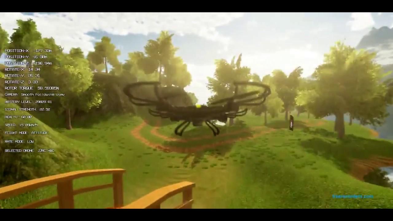 REAL DRONE SIMULATOR Gameplay | Flysky i6 RC, Smartpropoplus NOOBIE Video 1