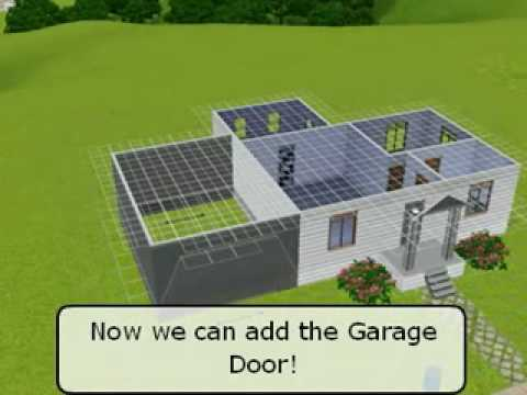 Building Garages On Foundation Homes The Sims 3 Youtube