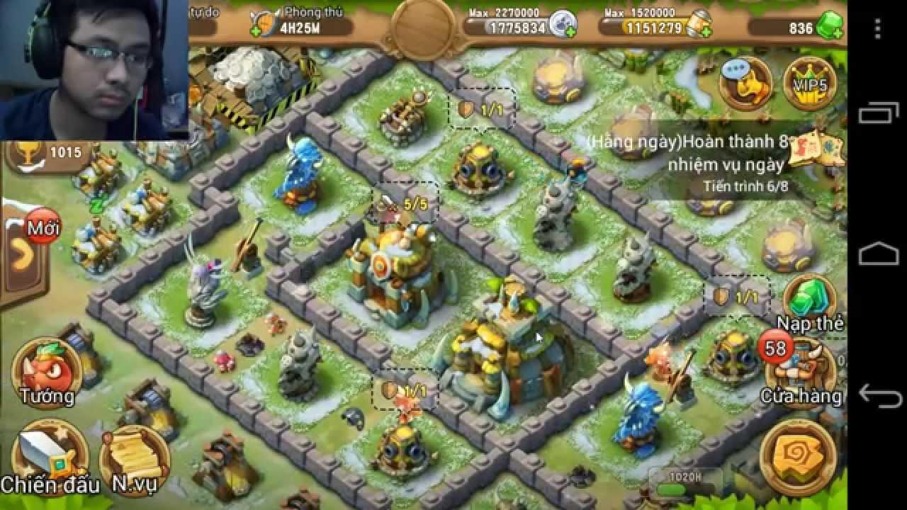 Khủng Long Chiến - Game Mobile Advance Dino Viet Nam - Gameplay