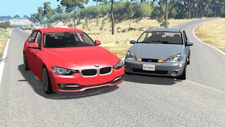 Realistic Car Crashes 15  BeamNG Drive