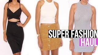 Super Mega FASHION HAUL!