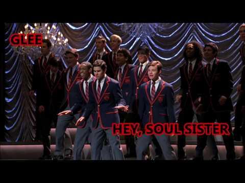 Glee-Hey, Soul Sister (Lyrics/Letra)
