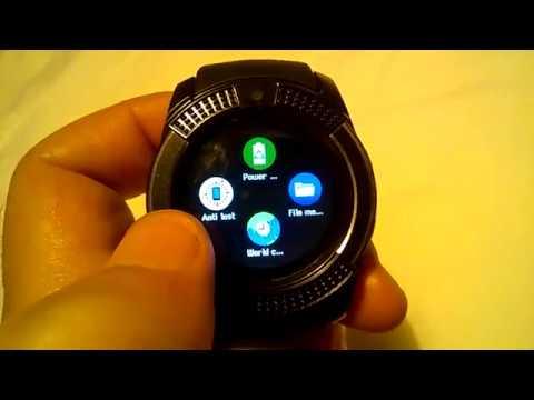 248ea43b7b1ca Smart Watch V8 - YouTube