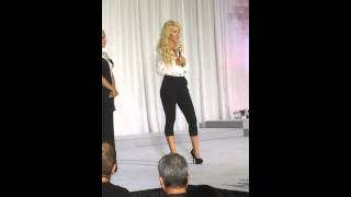 Miss Minnesota American Beauty 2015 On Stage Interview