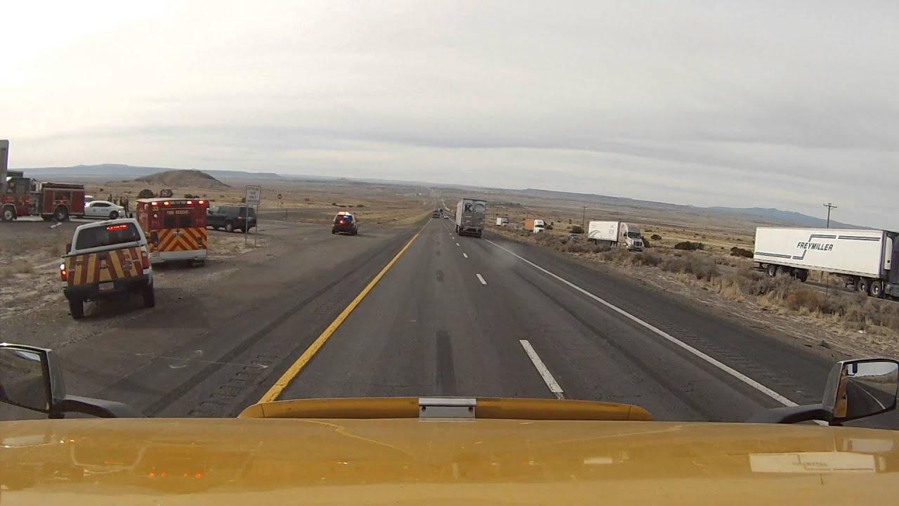 I-40 New Mexico Truck Crash