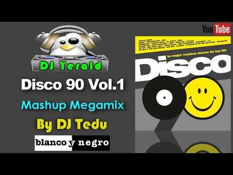 DISCO 90 VOL. 1 (2015) - Mashup Megamix