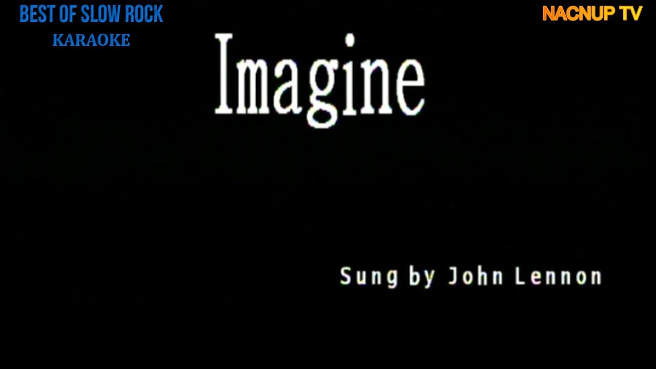 Imagine KARAOKE VERSION -John Lennon /Karaoke Lyrics/Karaoke Songs/