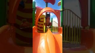 Cute Baby Playing At Park - Baby Outdoor Video