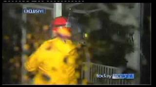 In the eyewall as Cyclone Yasi hits Mission Beach