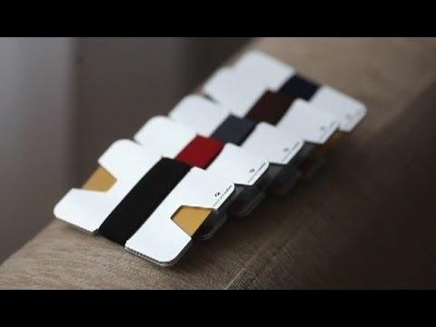Wallet Business Card Holder - N Metal