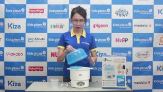 Máy tiệt trùng bình sữa Kiza Electric KZ201