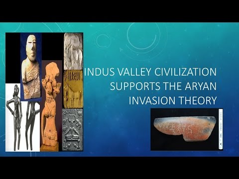 Aryan Invasion Theory supported by Indus Valley Civilization