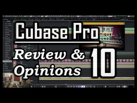 25+ New Features & Updates to Cubase Pro 10