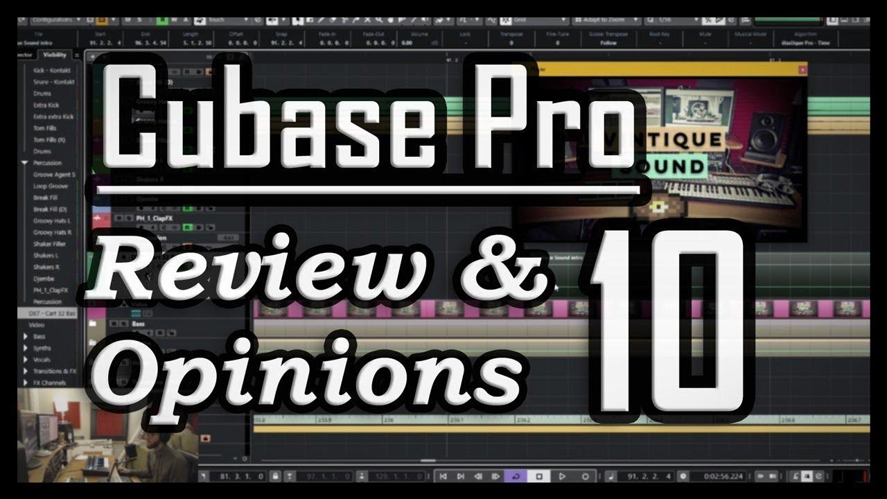 cubase 10 review sound on sound