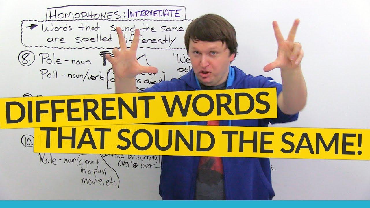 101 English Homophones You Should Know   OTUK