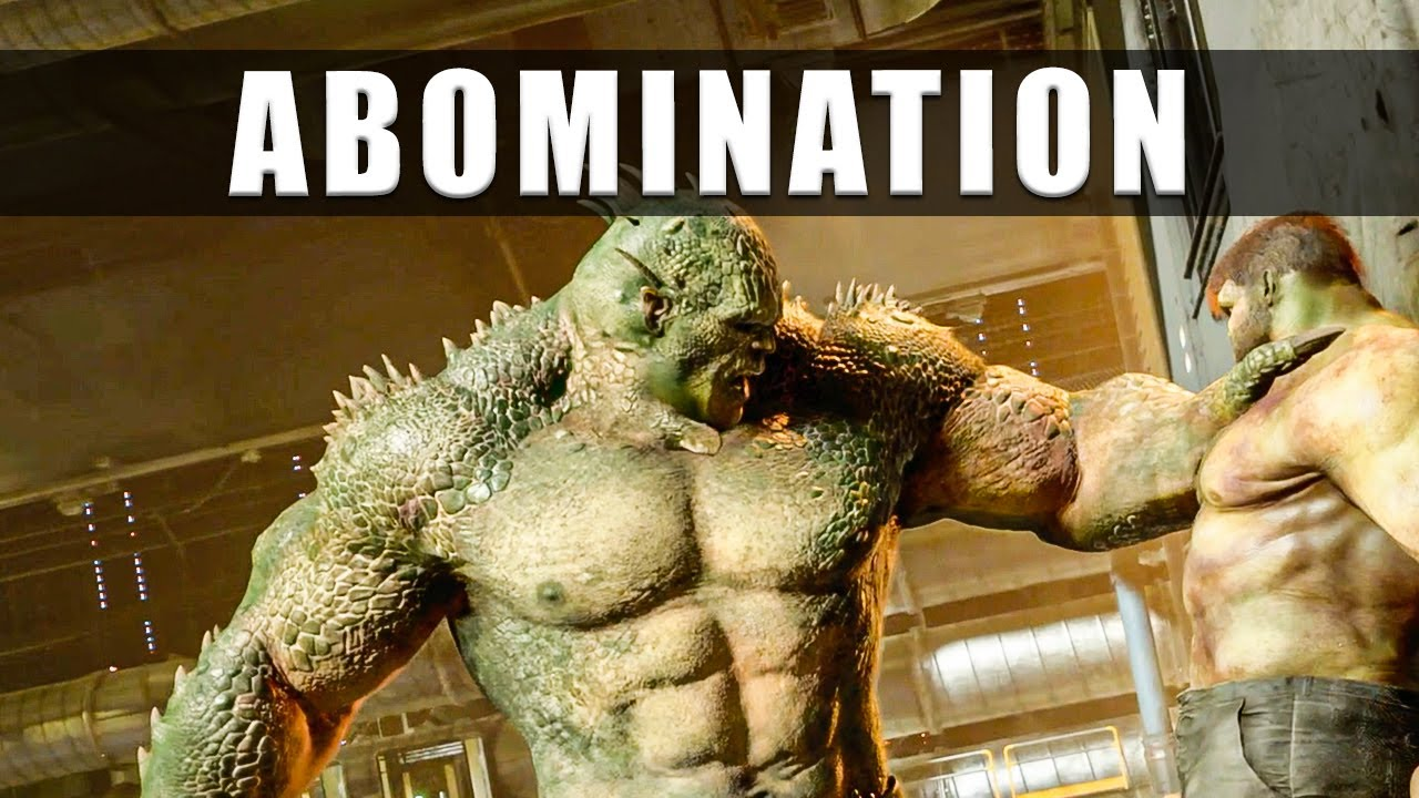 Marvel Avengers game Abomination boss fight
