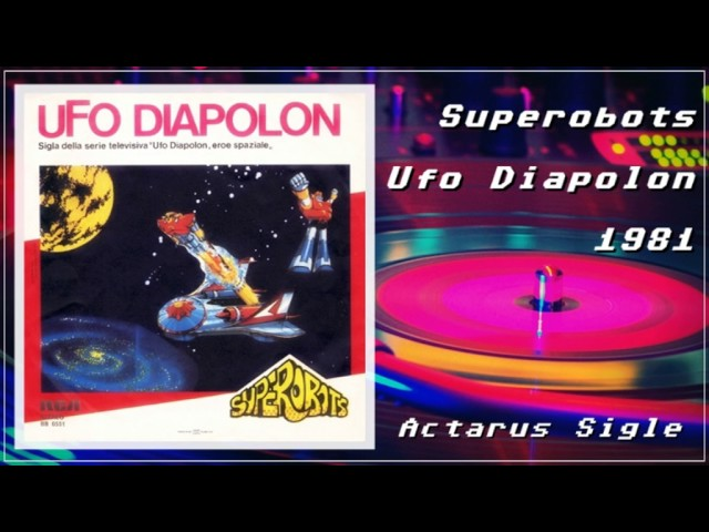 UFO Diapolon (sigla italiana) 1981
