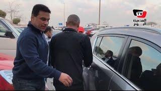 مغادرة «البدري وكوليبالي» مطار القاهرة فور وصولهم من جنوب أفريقيا