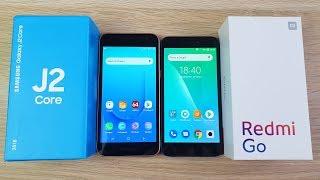 Samsung Galaxy j2 Core vs Xiaomi Redmi Go - ЧТО ВЫБРАТЬ? ПОЛНОЕ СРАВНЕНИЕ!
