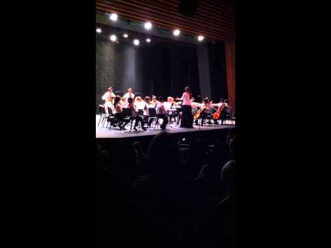 """Aviara Oaks Middle School Advanced Orchestra- """"Rosin Eating Zombies from Outer Space"""""""
