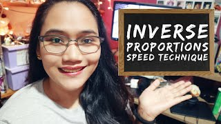 Inverse Proportions - Civil Service Exam Review