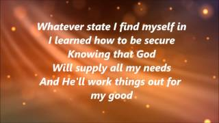 Hezekiah Walker - Better (Lyrics)