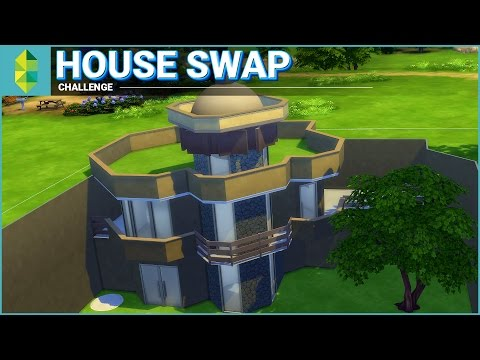 House Swap Challenge | The Sims 4