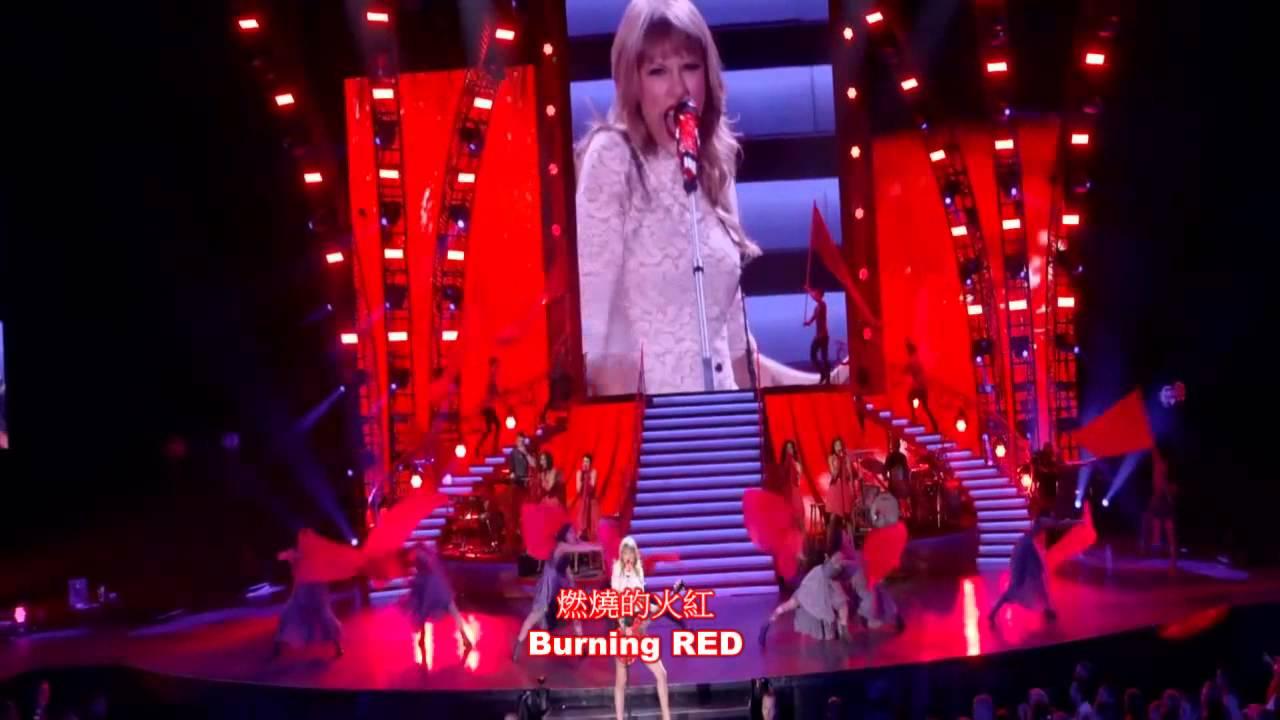 泰勒絲 Taylor Swift - Red 紅色(Chinese Sub)
