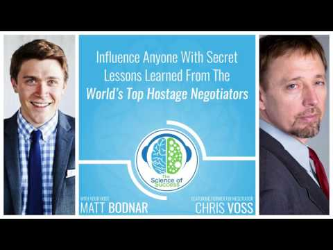 Influence Anyone With Secret Lessons Learned from Former FBI Negotiator Chris Voss