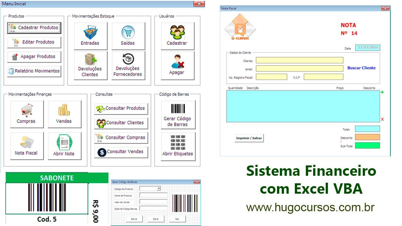 Sistema Financeiro Com Excel Vba