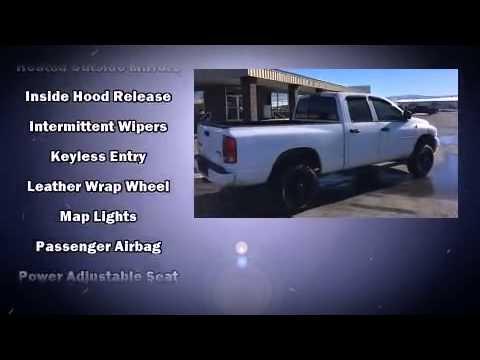 2003 Dodge 2500 Slt In Craig Co 81625 Youtube