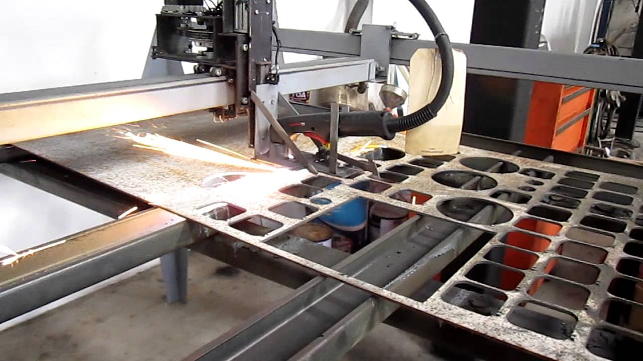 MY DIY CNC PLASMA CUTTER - YouTube
