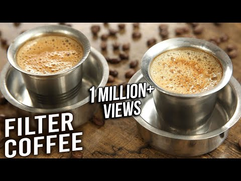 Filter Coffee   How To Make South Indian Filter Coffee At Home   Quick & Easy Coffee Recipe   Varun