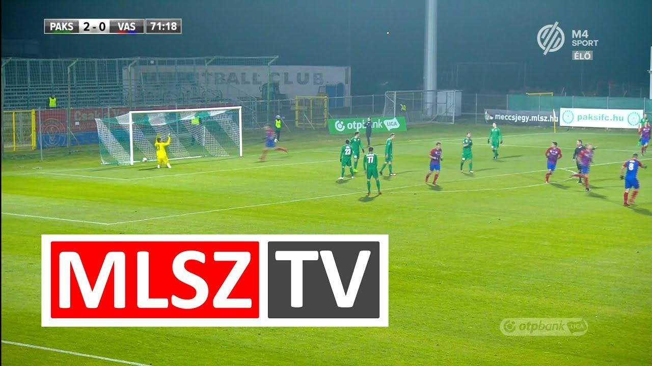 Pavlov Ievgen gólja a Paksi FC - Vasas FC mérkőzésen