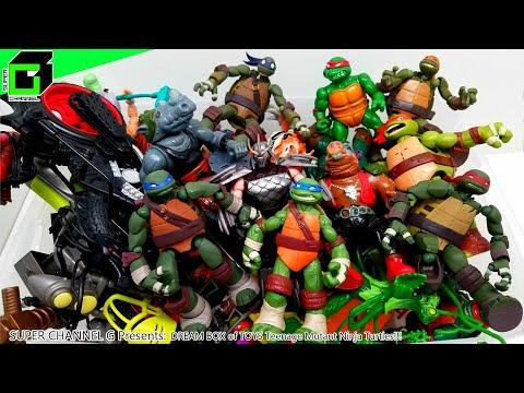 DREAM BOX Of TOYS - Teenage Mutant Ninja Turtles!