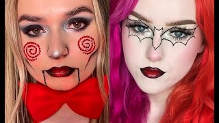 Ideas Fáciles de Maquillaje para HALLOWEEN Octubre 2021 PARTE 2 | Easy Makeup Ideas for HALLOWEEN