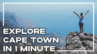 The Best Of Cape Town In 1 Minute - Discover South Africa | Stoked For Travel