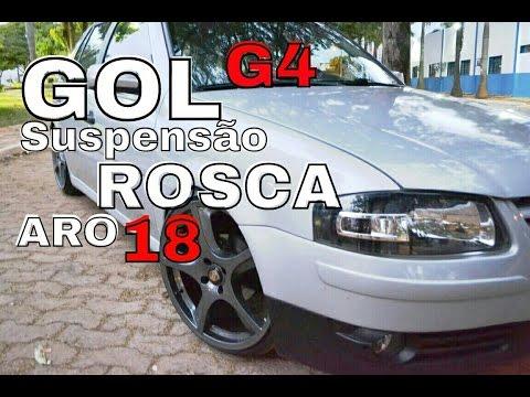 Gol G4 - Aro 18 - Suspensão de rosca -  DUB Star Films