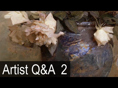 Painting Details and Values & more – Ep.2 Oil Painting Q&A with Mark Carder