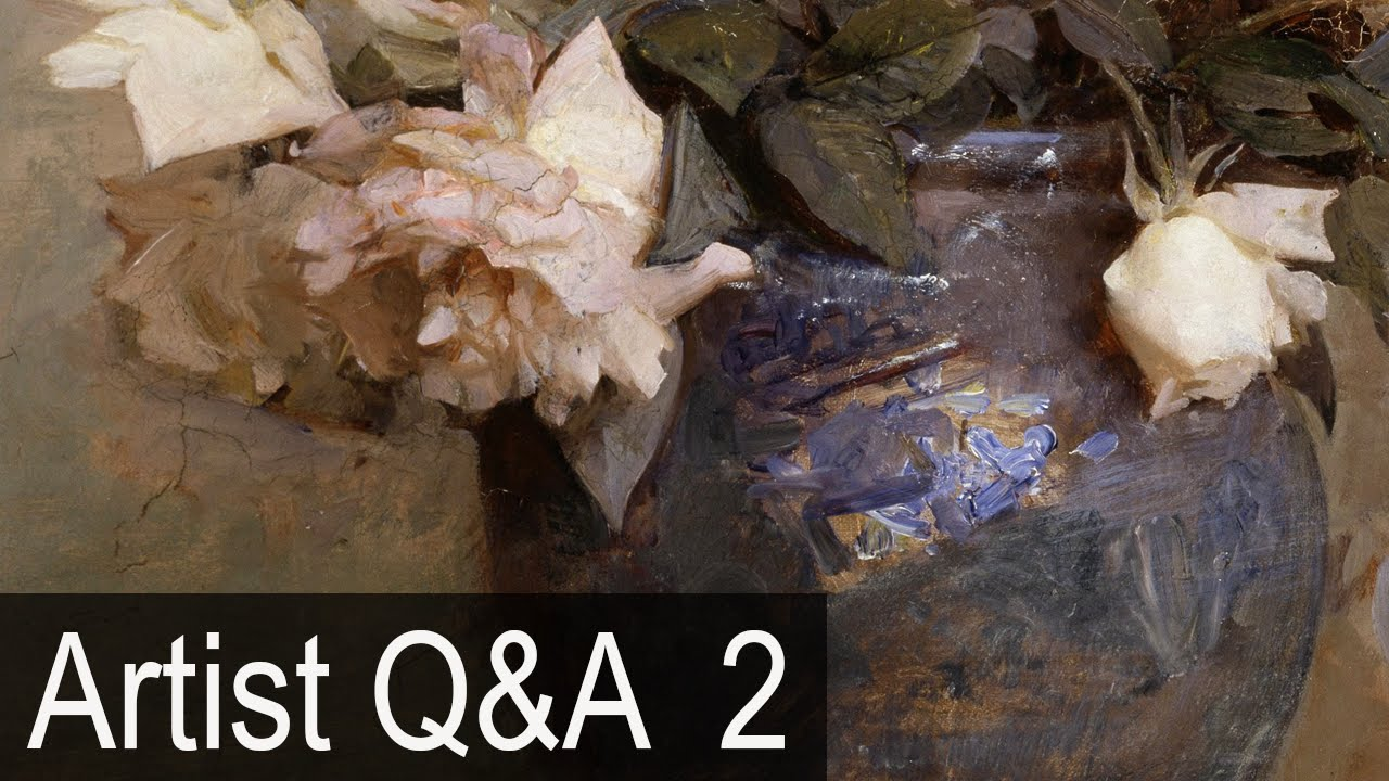 Painting Details And Values More Ep 2 Oil Painting Q A With Mark