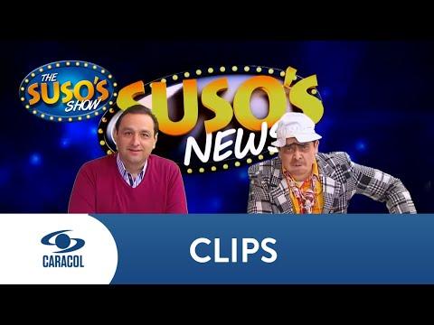 Así presentan Suso y Jorge Alfredo Vargas una emisión de noticias | The Suso´s Show