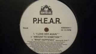 P.H.E.A.R. - I Love Her Again