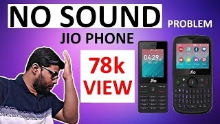Jio Phone 2 & Jio Phone 1 no Sound or no Ringtone problem & Easy Solution
