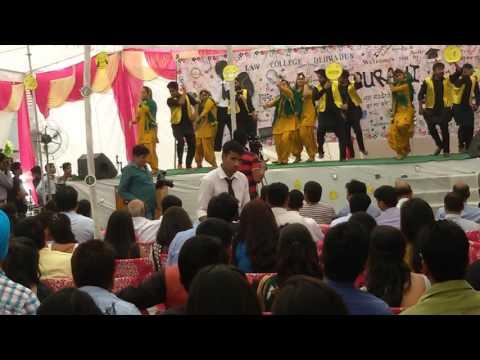 Law College Dehradun,Bhangra 2014 (batch 2010-2015)