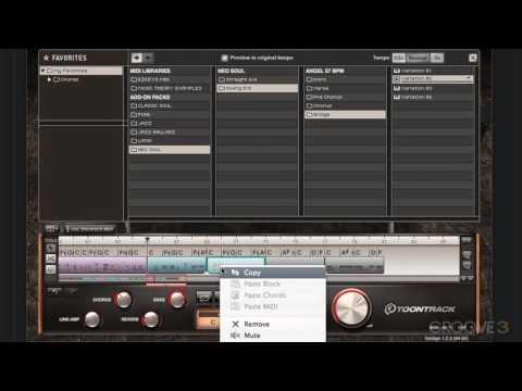 04 Editing EZKeys Song Blocks