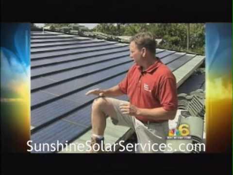 Solar Tile Installation. Sunshine Solar Services, Inc.