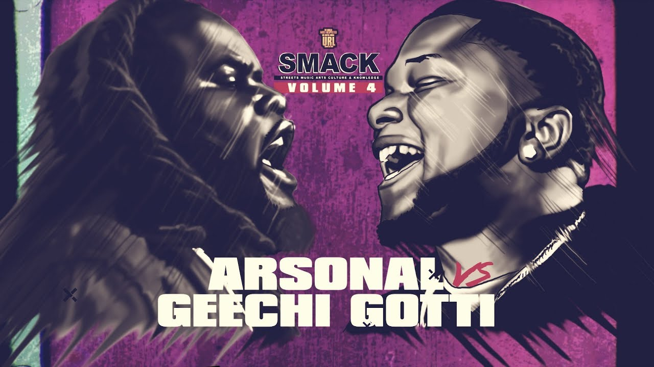 ARSONAL VS GEECHI GOTTI RAP BATTLE | URLTV