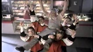 Mike Bossy 1994 French Canadian Dunkin' Donuts Commercial