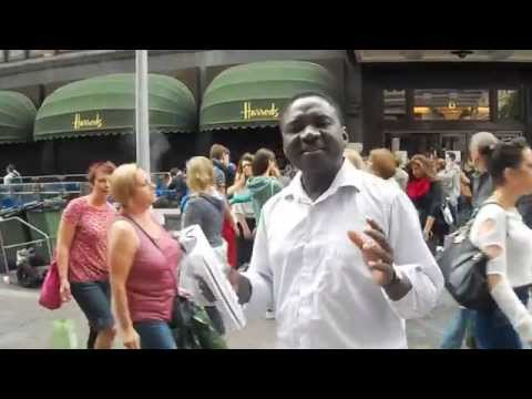 The fall of Lucifer, London SW7, Andy Lumeh, Bold Evangelist, Isaiah 14: 12