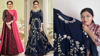 Designer Anarkali Salwar Kameez ll Online Shop ll Embroidered ll 17 March 2018